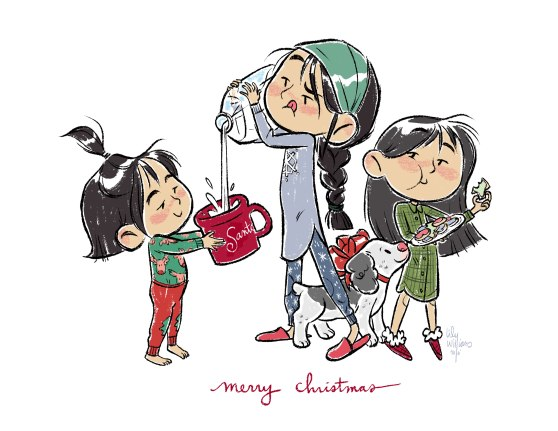 kidlit_holidaycard_lilywilliams_milk